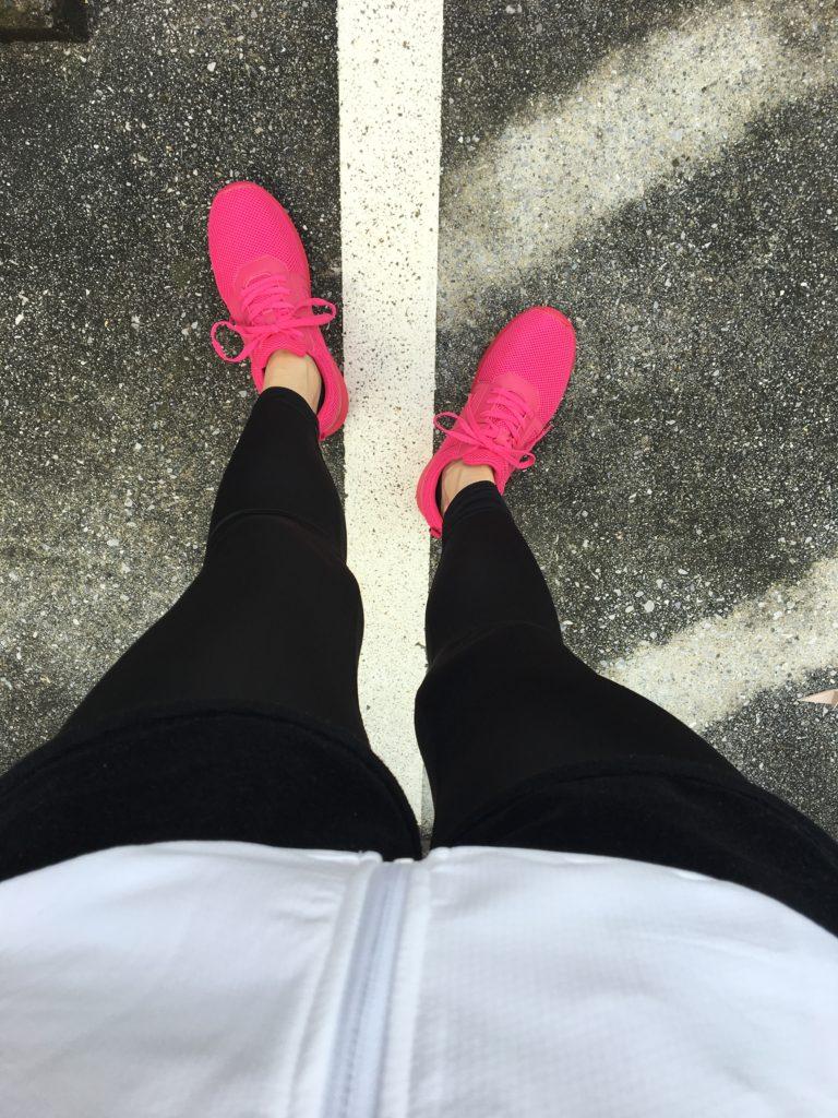 ジョギングデビュー